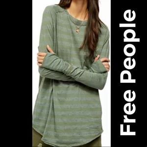 """🆕 NWOT Free People """"We The Free"""" Arden Top"""
